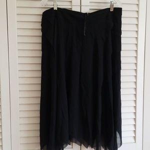 INC brand newsilk skirt size 14W